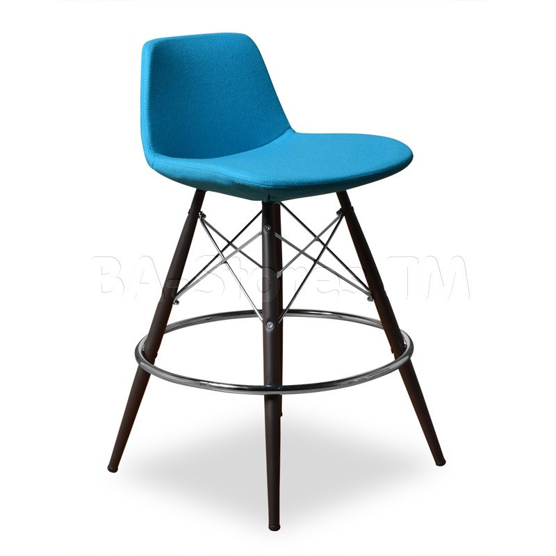 Turquoise Bar Stool Covers