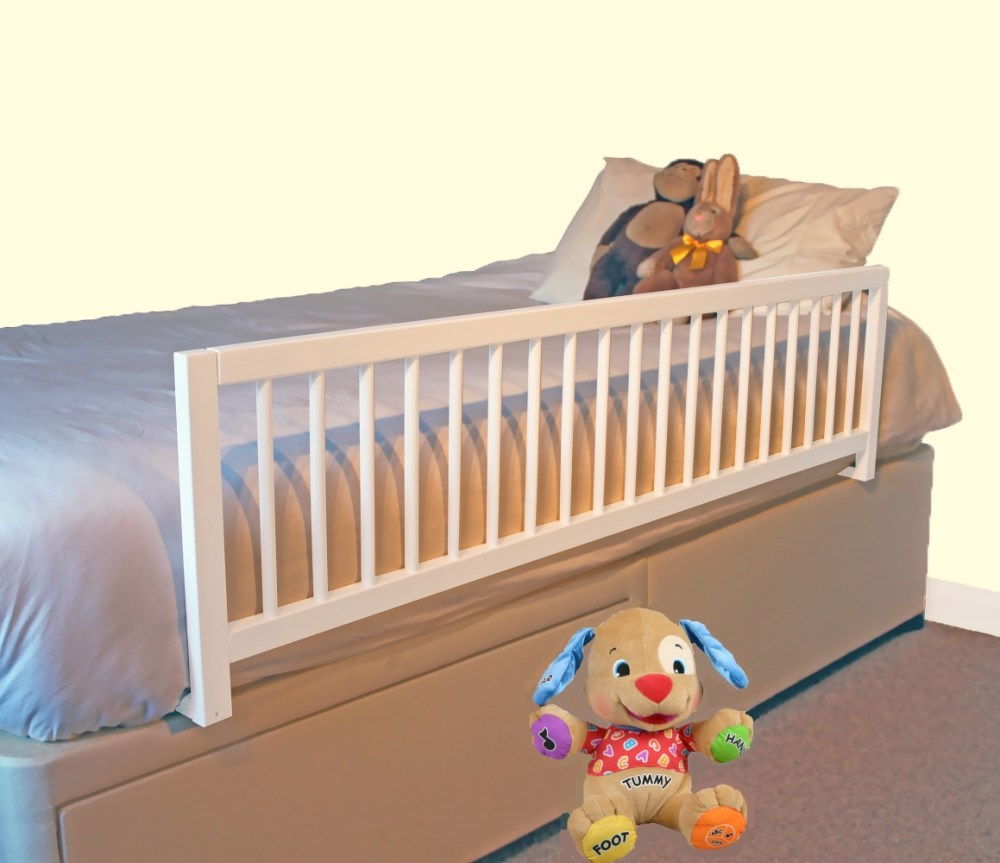 Twin Bed With Rails For Toddler