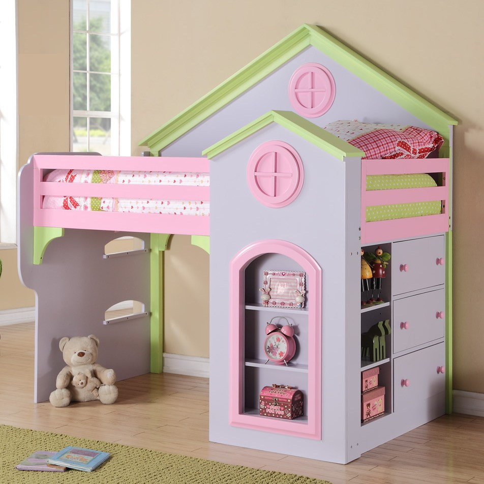Twin Loft Bed For Toddlers