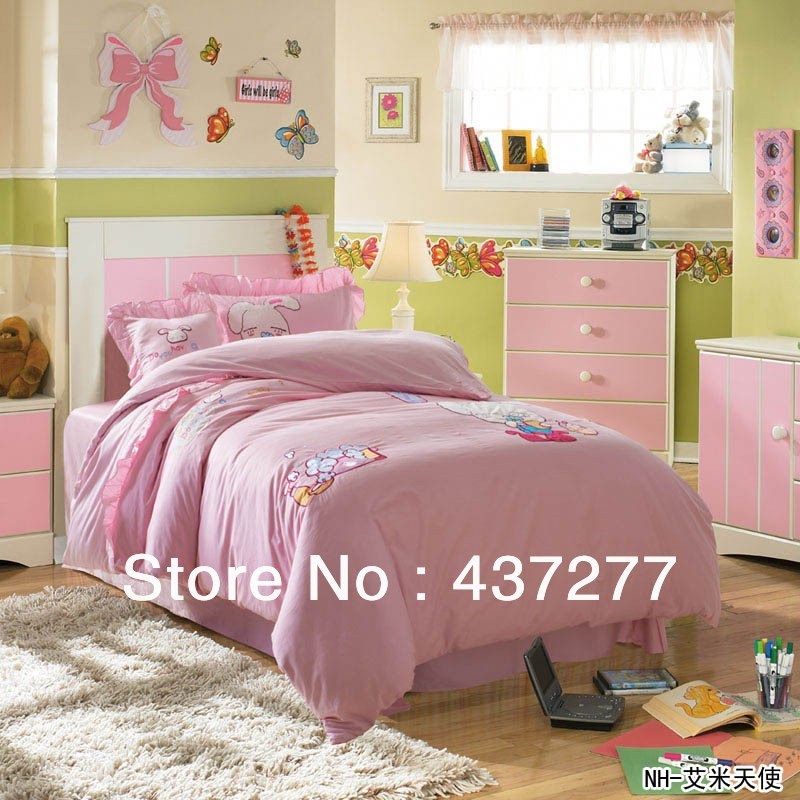 Twin Size Girl Bedding