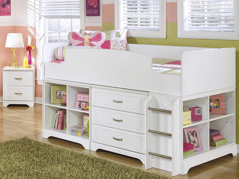 Twin Size Toddler Bed With Storage