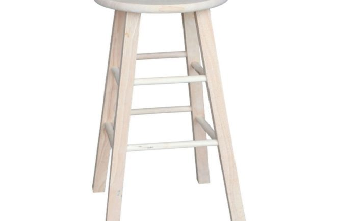 Unfinished Bar Stools 24