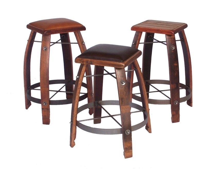 Unfinished Bar Stools Saddle