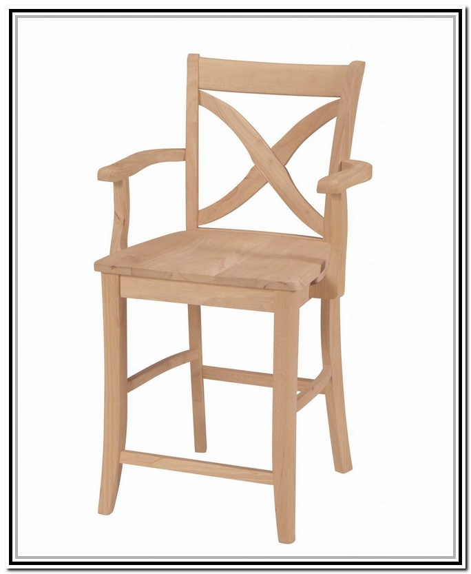 Unfinished Wood Bar Stools Wholesale