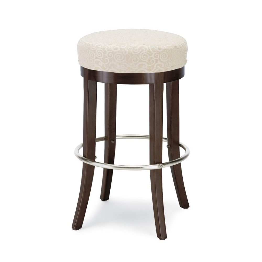 Unfinished Wood Swivel Bar Stools