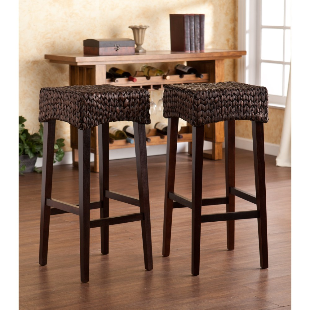 Upholstered Bar Stool Bench