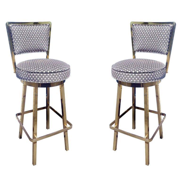 Upholstered Bar Stools Swivel