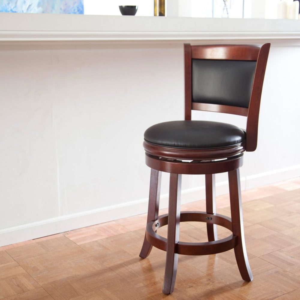 Upholstered Bar Stools Without Backs