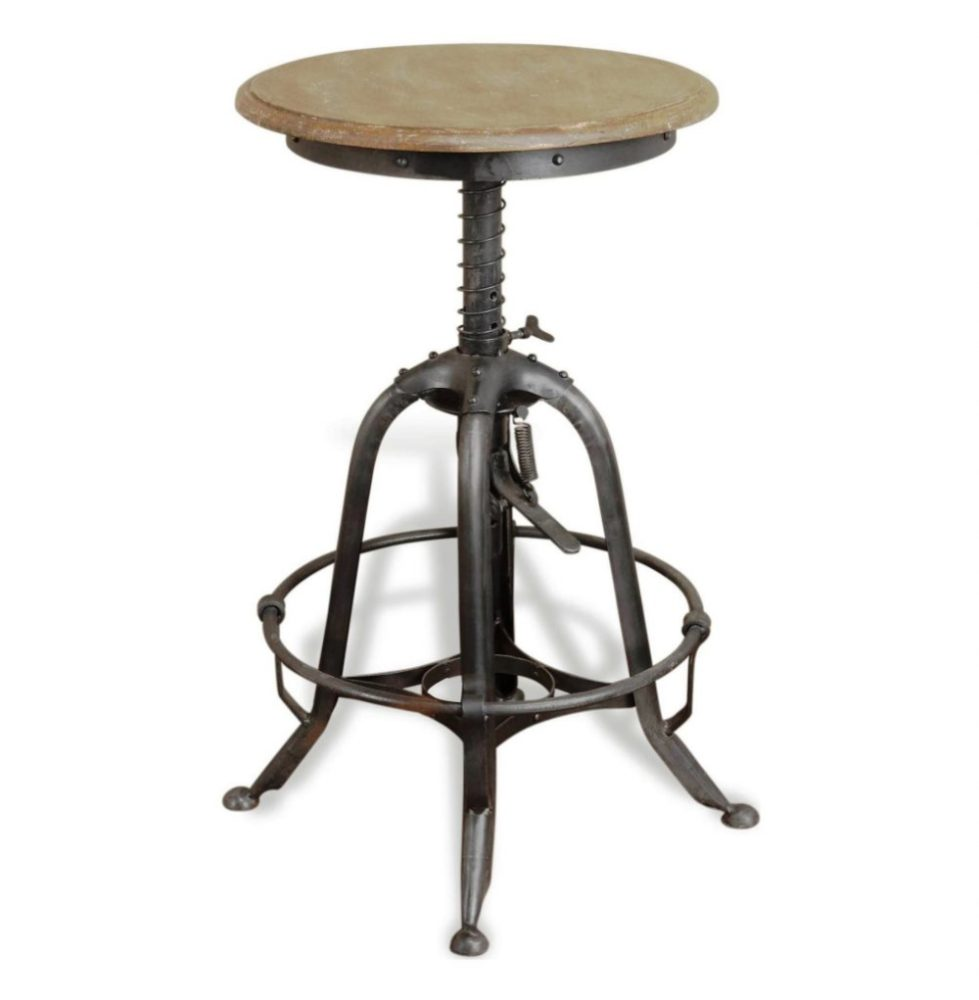 Vintage Industrial Bar Stools Uk