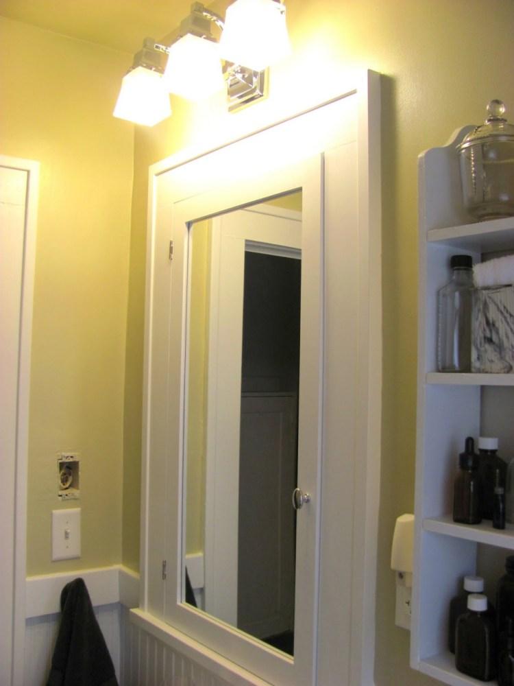Wall Medicine Cabinet White