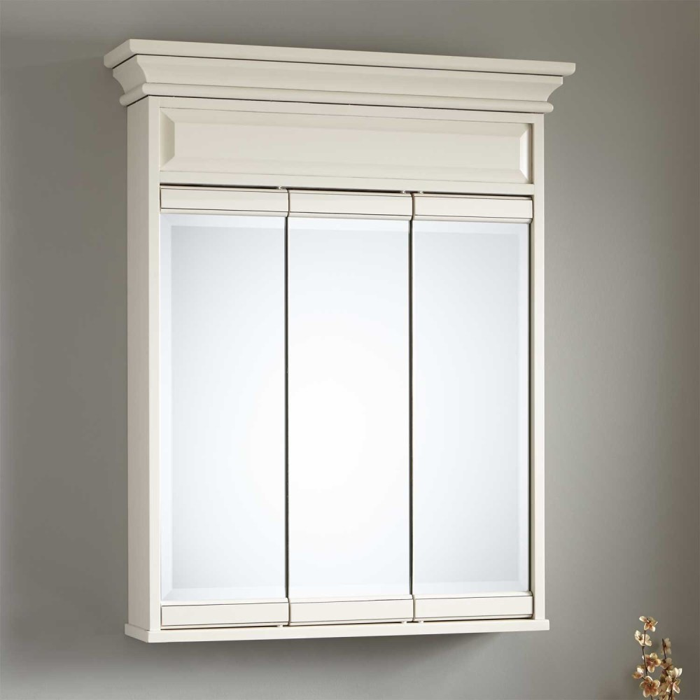 Wall Mount Medicine Cabinets White