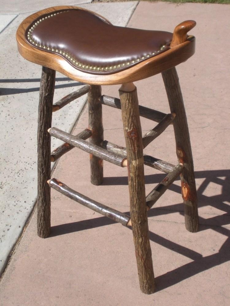 Western Saddle Bar Stools For Sale