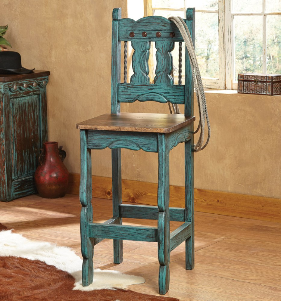 Western Star Bar Stools