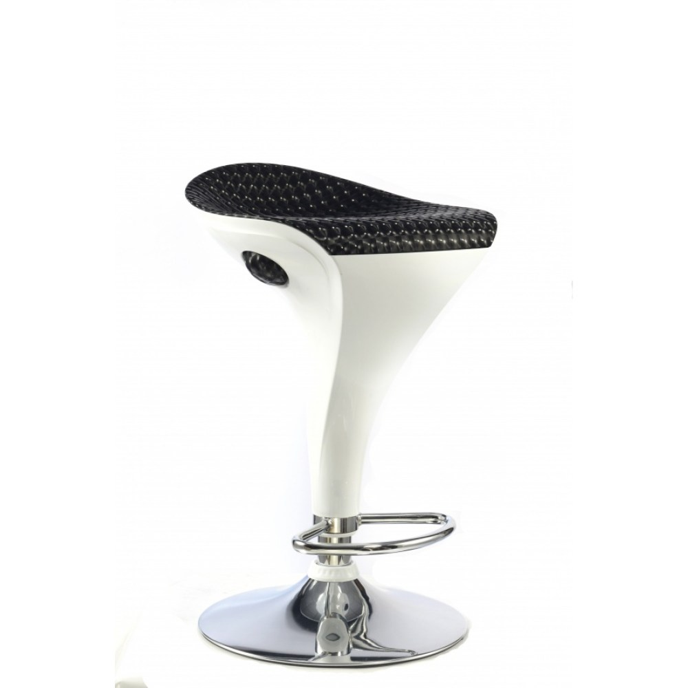 White Black Bar Stools