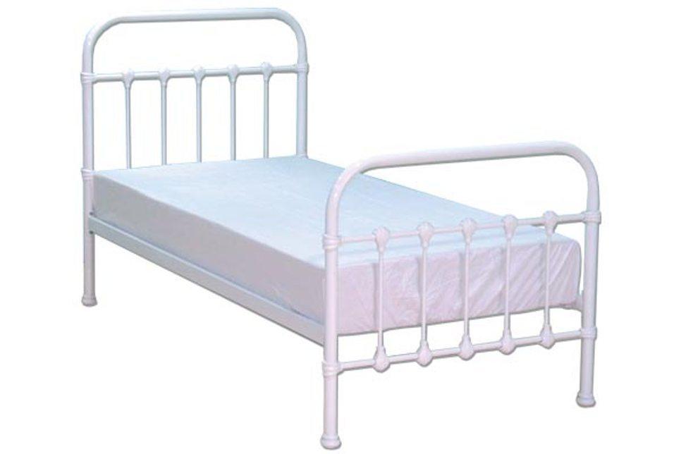 White Toddler Bed Frame