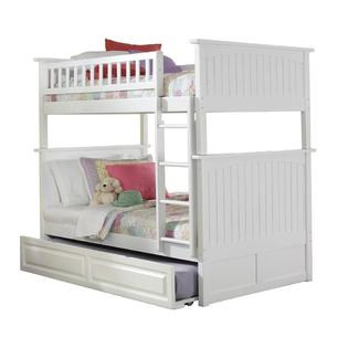 White Toddler Bed With Trundle