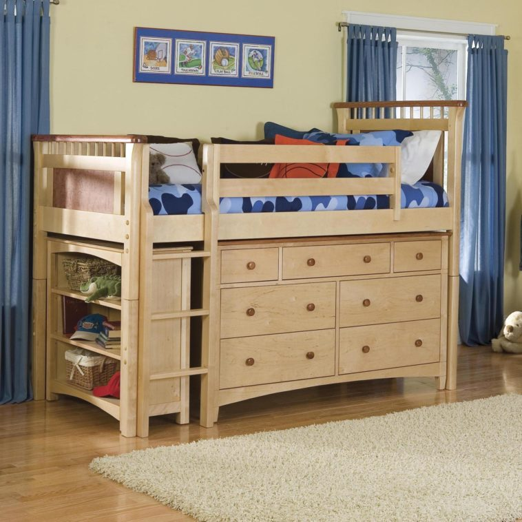 White Toddler Beds With Storage