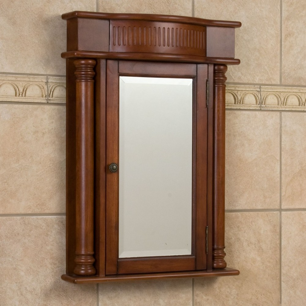 White Wall Mounted Medicine Cabinet