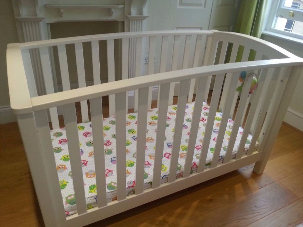 White Wooden Toddler Bed Sale