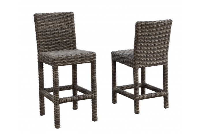 Wicker Outdoor Bar Stools