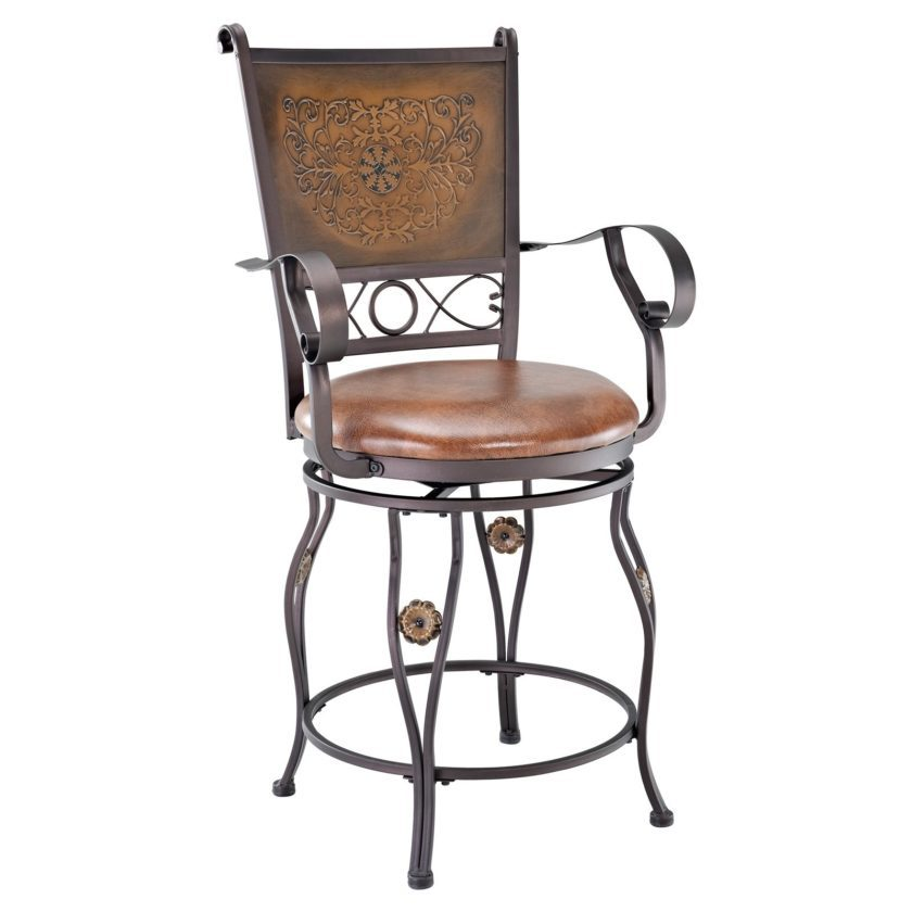 Windsor Bar Stools With Arms