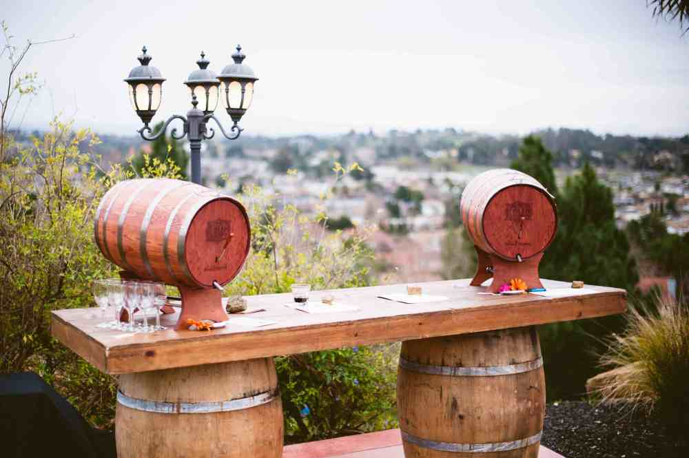 Wine Barrel Bar Stool Plans
