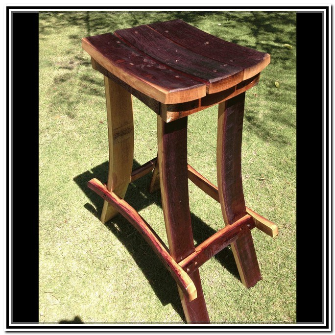 Wine Barrel Bar Stools Wholesale