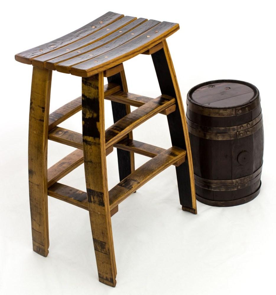 Wine Barrel Stave Bar Stools
