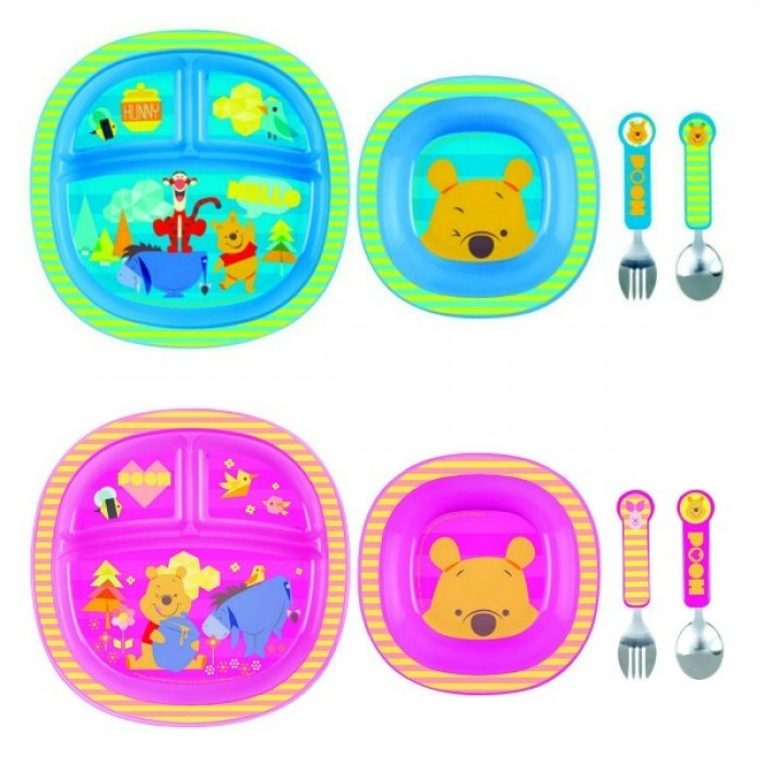 Winnie The Pooh Toddler Dining Set