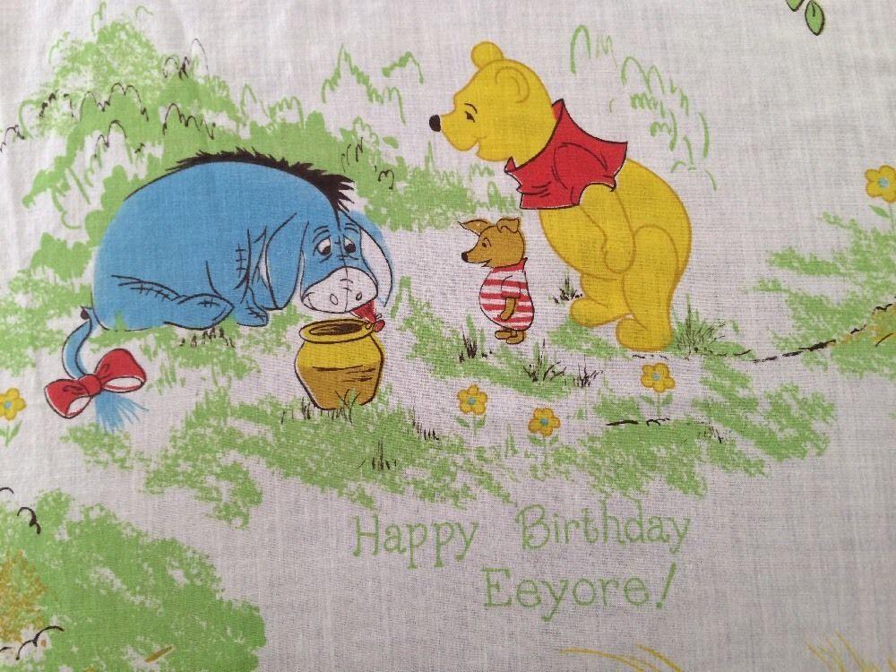 Winnie The Pooh Toddler Sheet Set