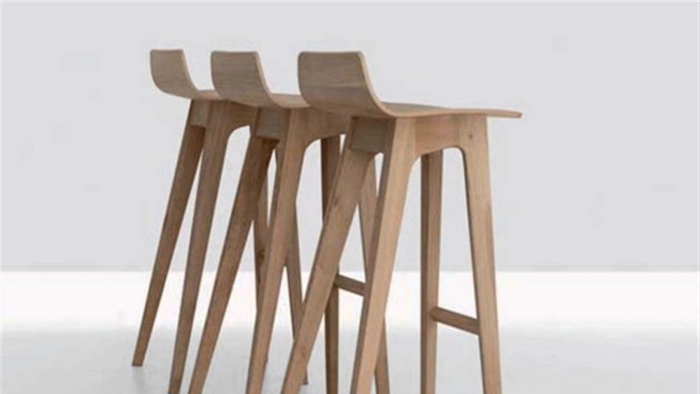 Wood Bar Stool Tops