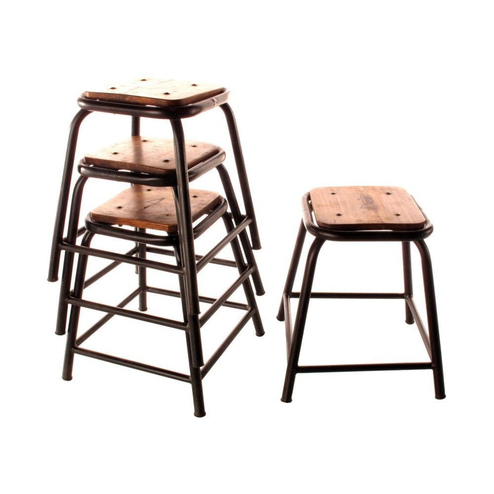 Wood Bar Stools Without Backs