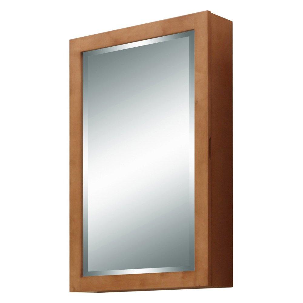 Wood Frame Medicine Cabinet