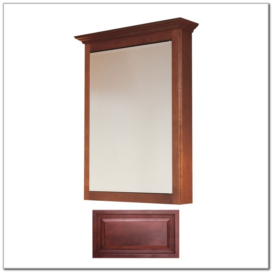 Wood Medicine Cabinets Surface Mount