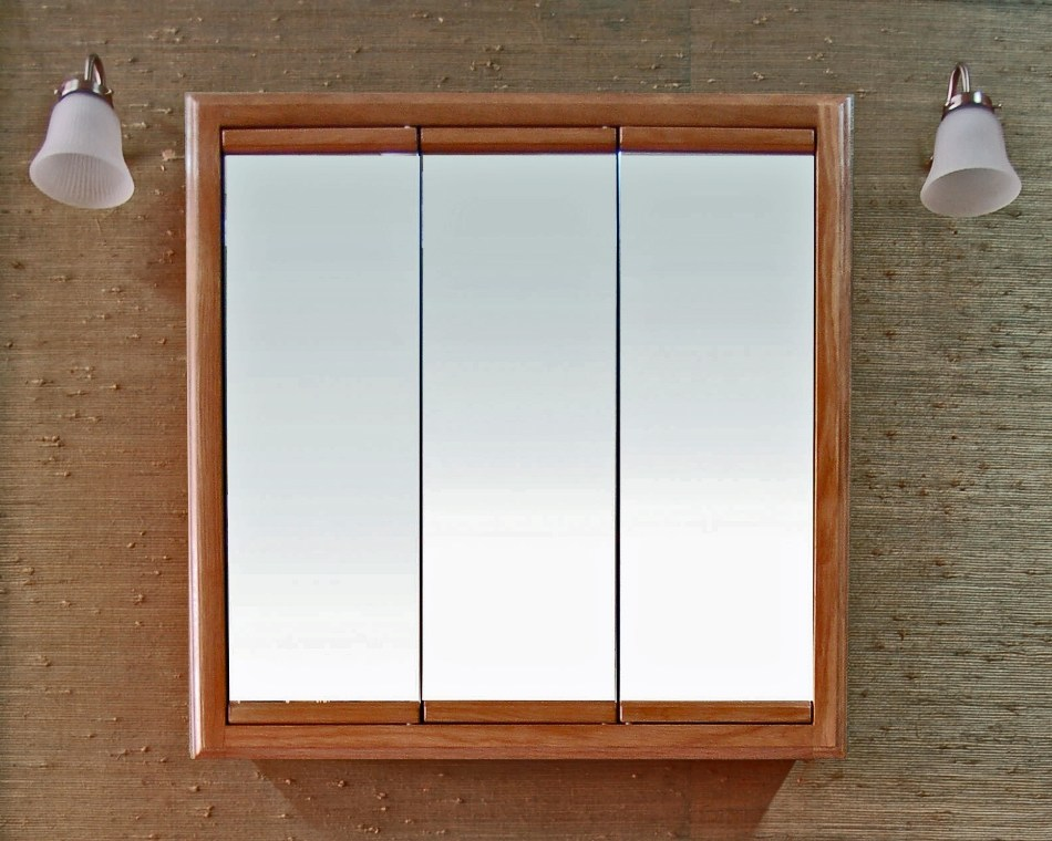 Wood Medicine Cabinets With Mirrors