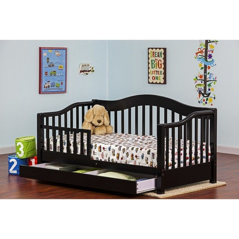 Wood Toddler Bed With Drawer