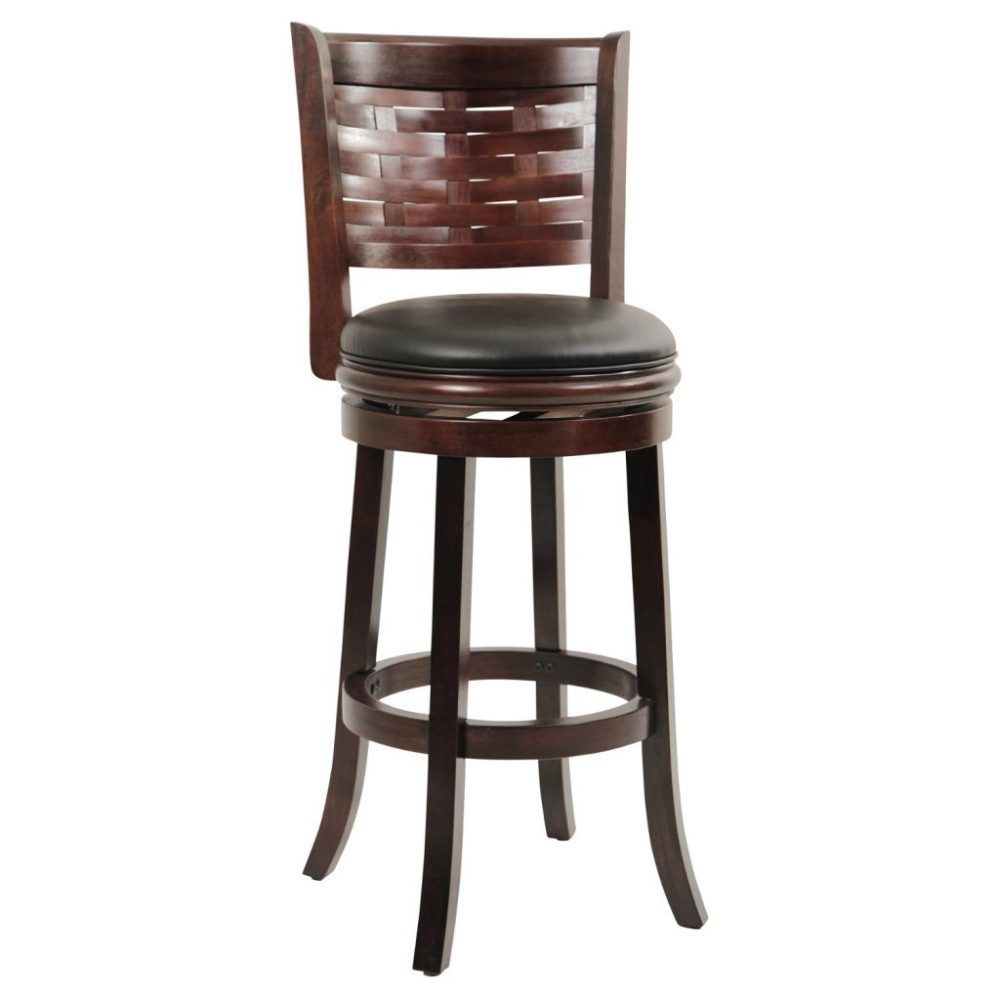 Wooden Swivel Bar Stools For Sale