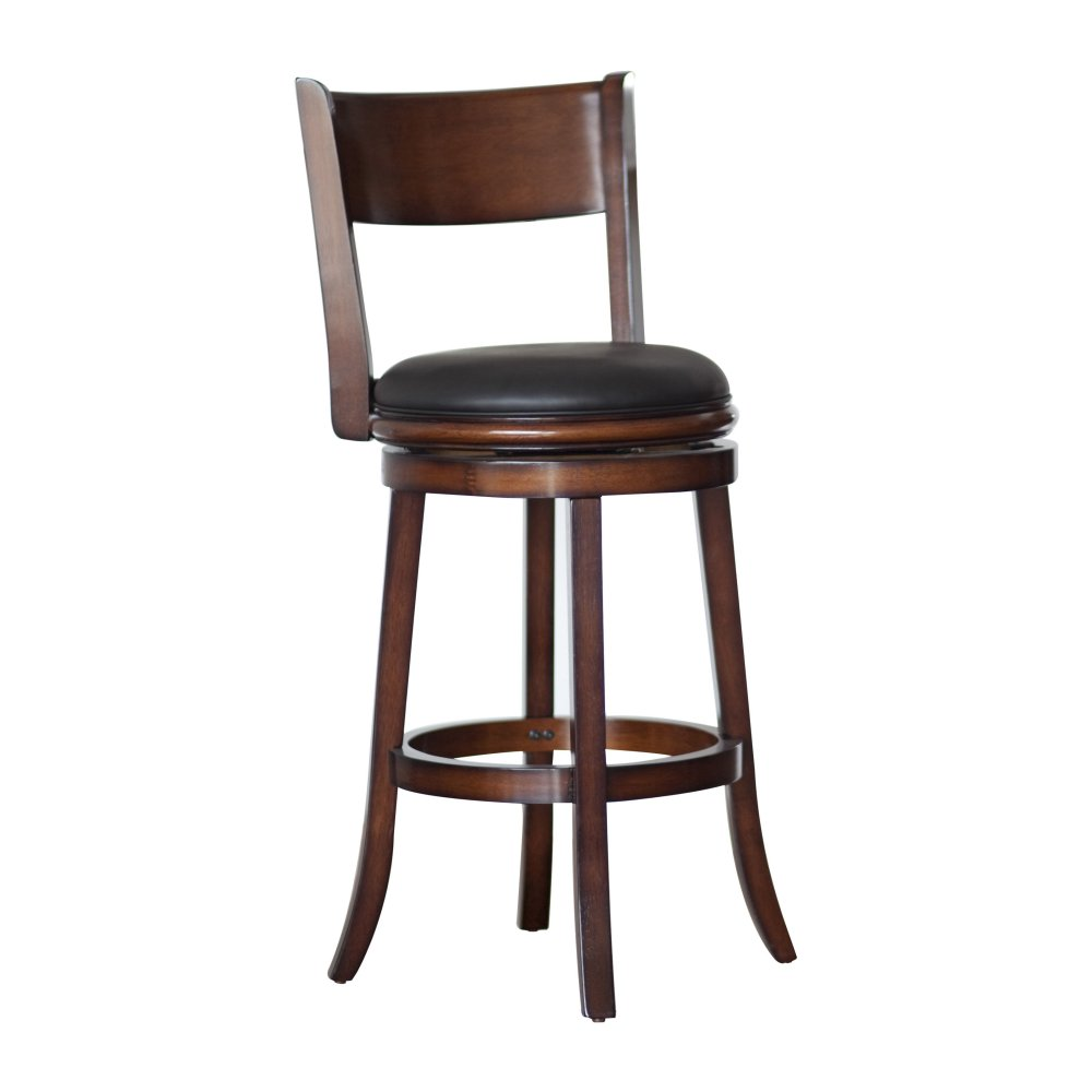 Wooden Swivel Breakfast Bar Stools