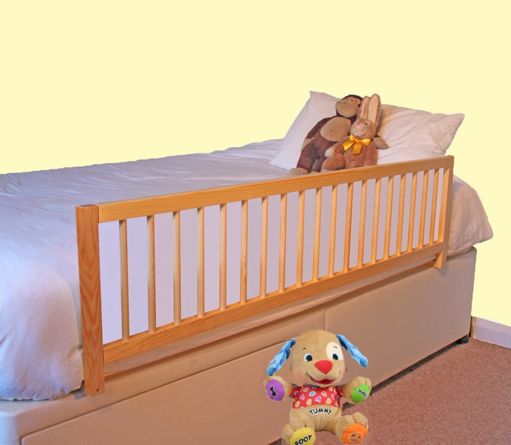 Wooden Toddler Bed Guard Rail