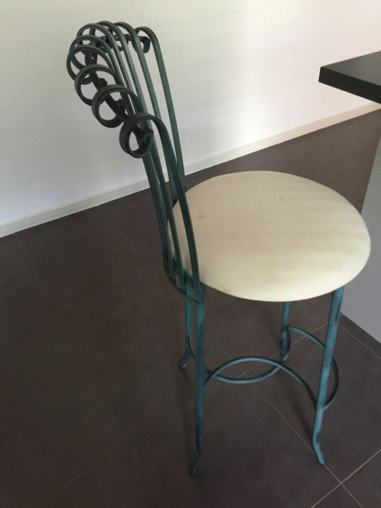 Wrought Iron Bar Stools Sydney