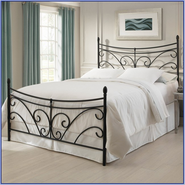 Wrought Iron Toddler Bed