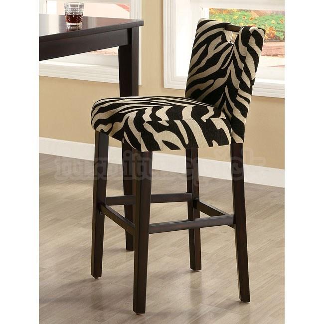 Zebra Bar Stools