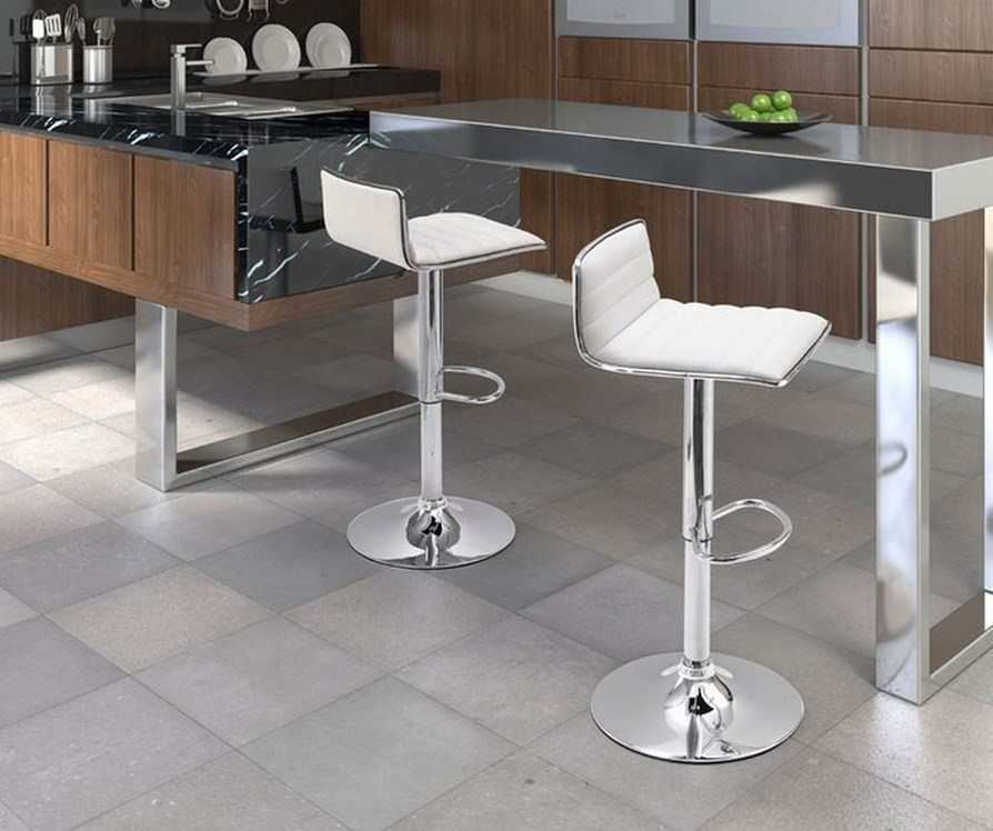 Zuo Modern Bar Stools White