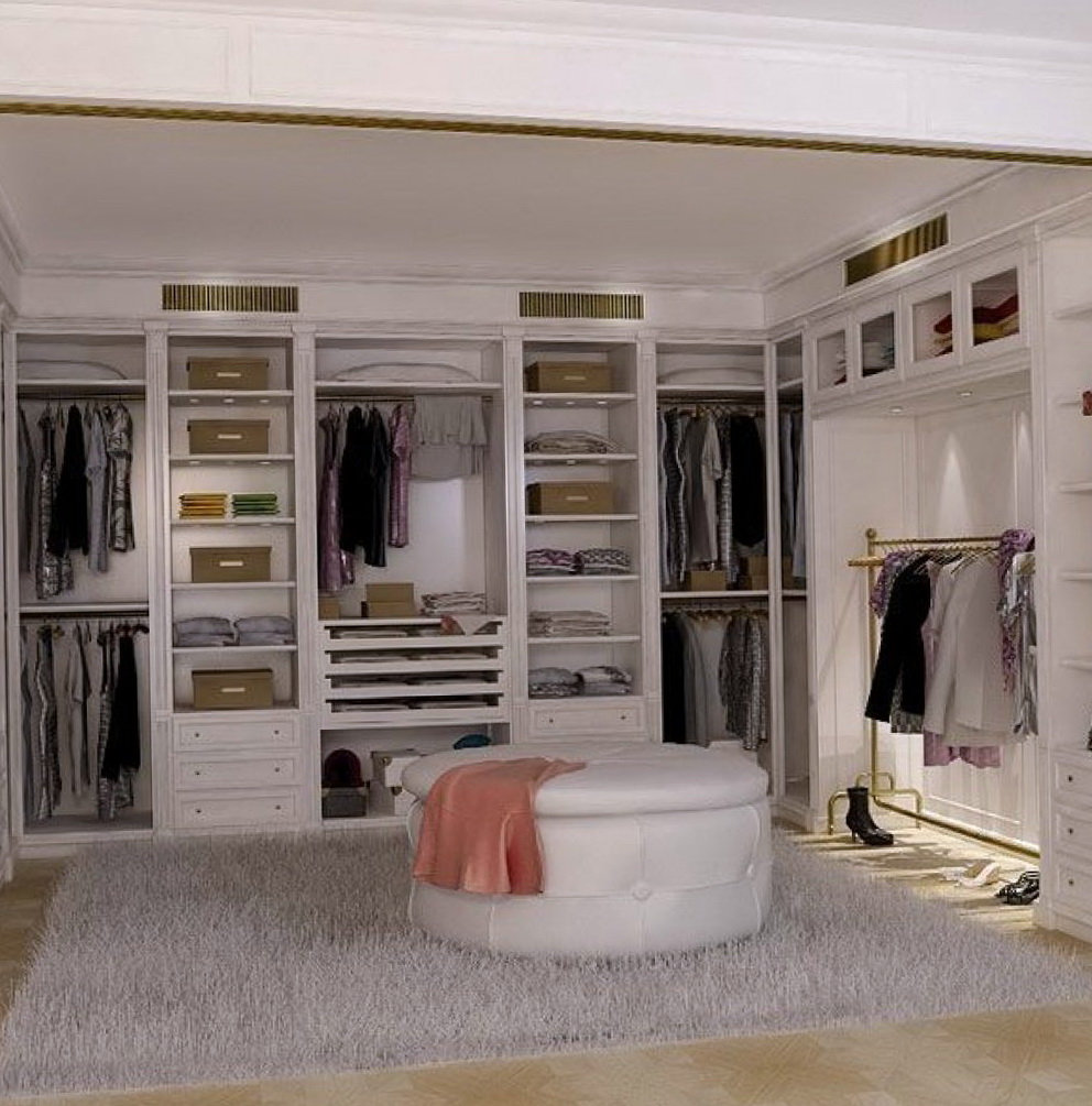 Basement Walk In Closet Ideas