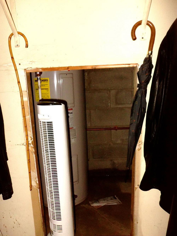 Water Heater Closet Door Exterior