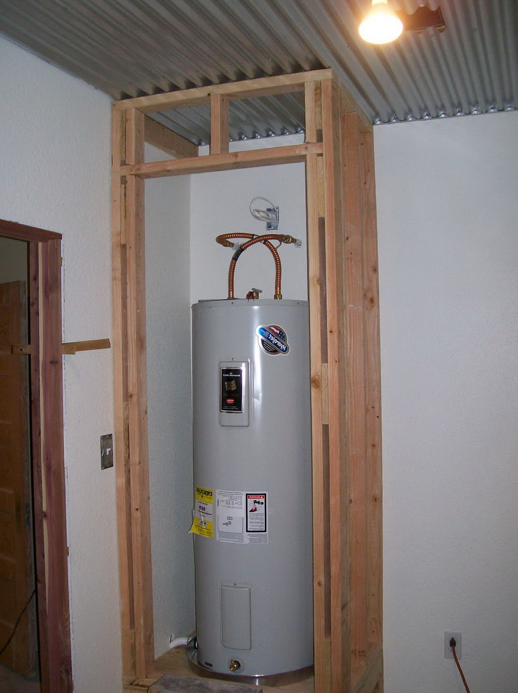 Water Heater Closet Door Home Depot