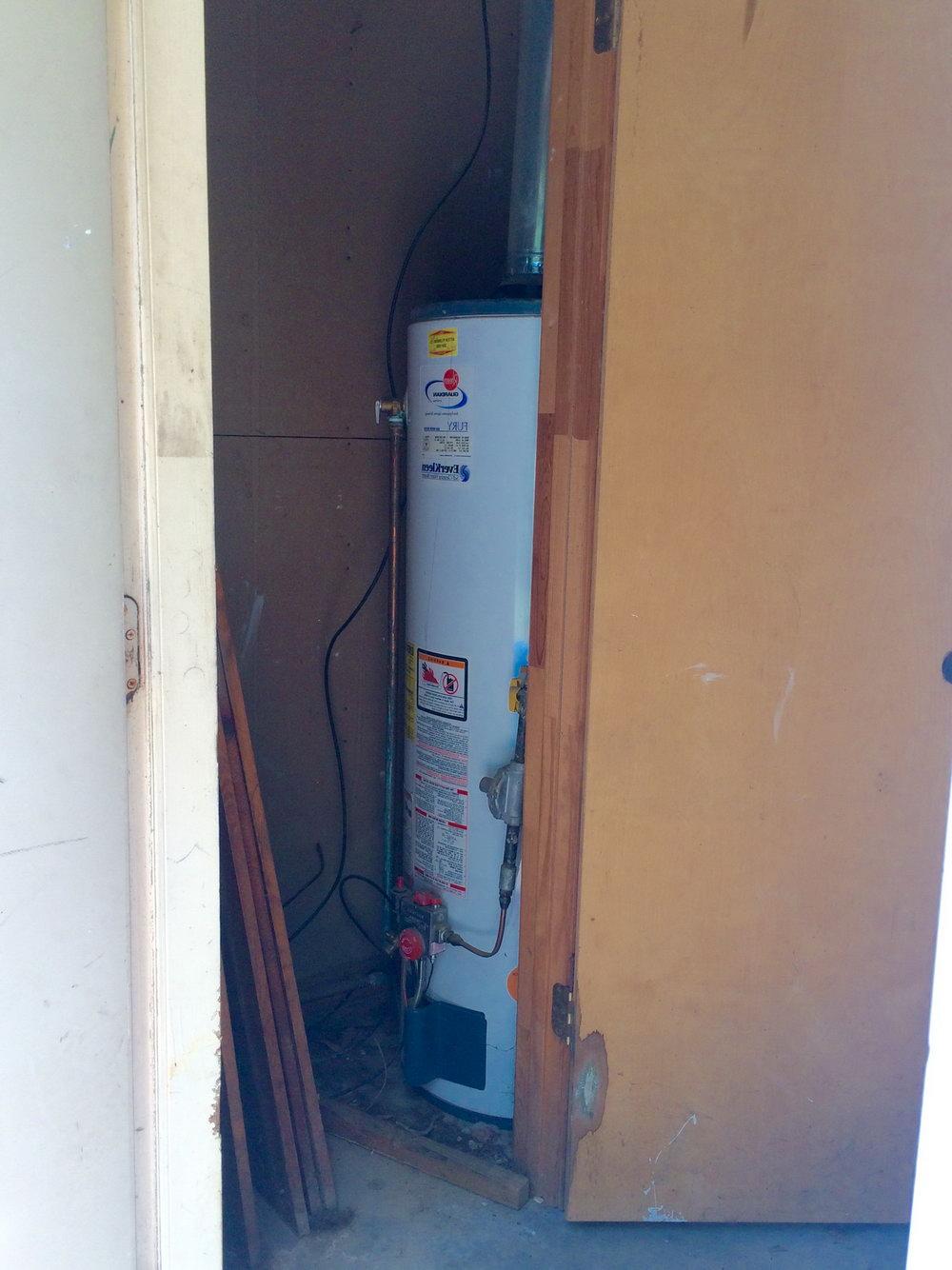 Water Heater Closet Door Requirements