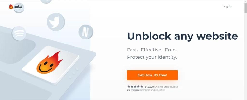 Hola VPN for Firestick