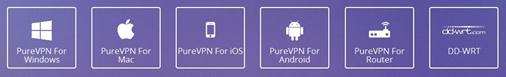 OS & Devices of purevpn from vpnif