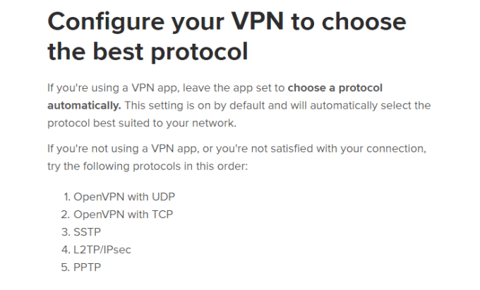 configure your VPN in expressvpn
